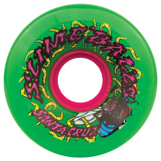 -Skate-Santa Cruz 60mm Slime Balls 78a Wheels - Maggots Green-Santa Cruz-Seaside Surf Shop