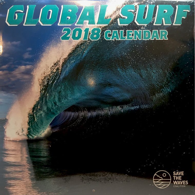 -Calendars-Global Surf 2018 Calendar-Surfrider-Seaside Surf Shop