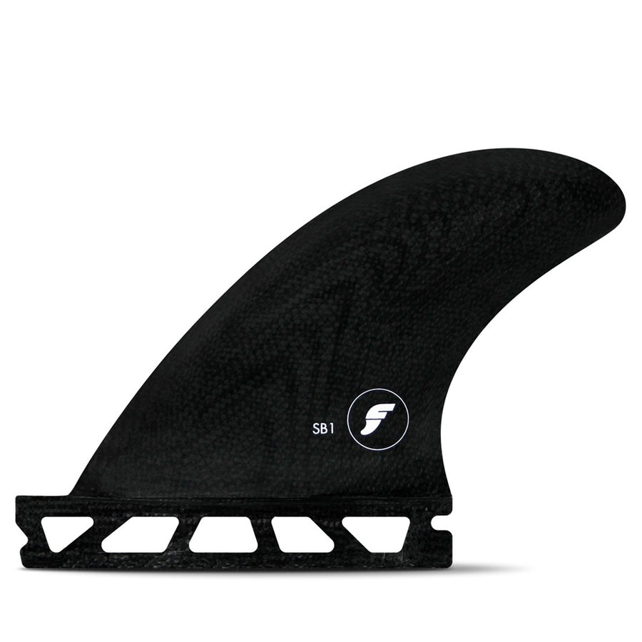 Futures Fins - Sidebites 1 Set - Solid Black