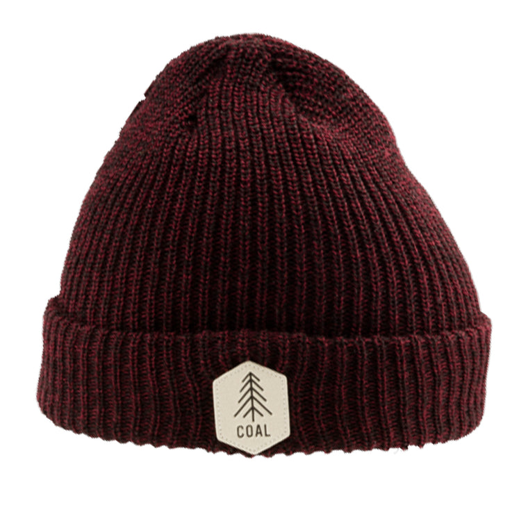 -Apparel Accessories-Coal Mens The Scout Beanie - Dark Burgundy-Coal Headwear-Seaside Surf Shop
