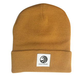 Seaside Surf Shop Wave Logo  Beanie - Wheat