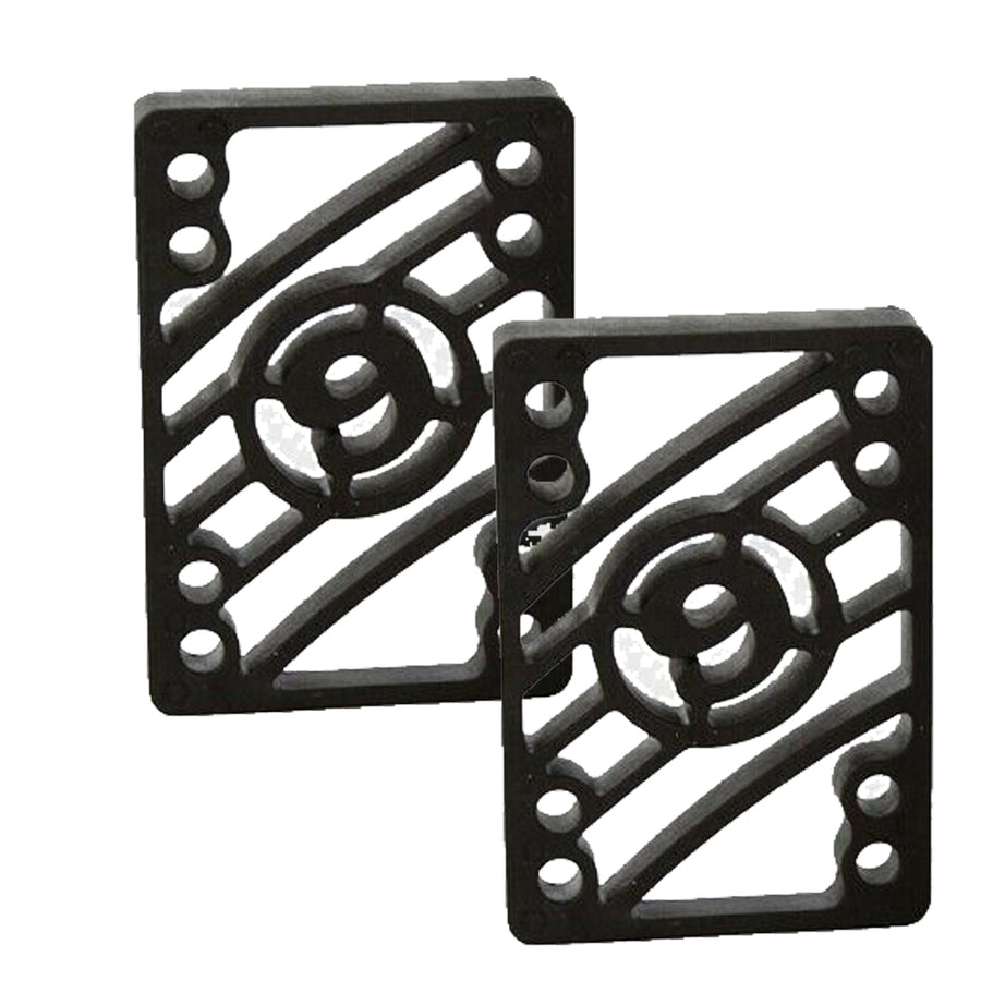 "Sector 9 Skateboard 1/2"" Shock Pad Risers  - Black"