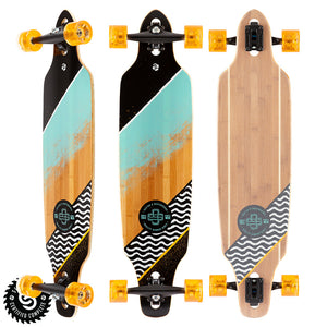 "Sector 9 Flow Mini Lookout Complete - 37.5"" - Teal"