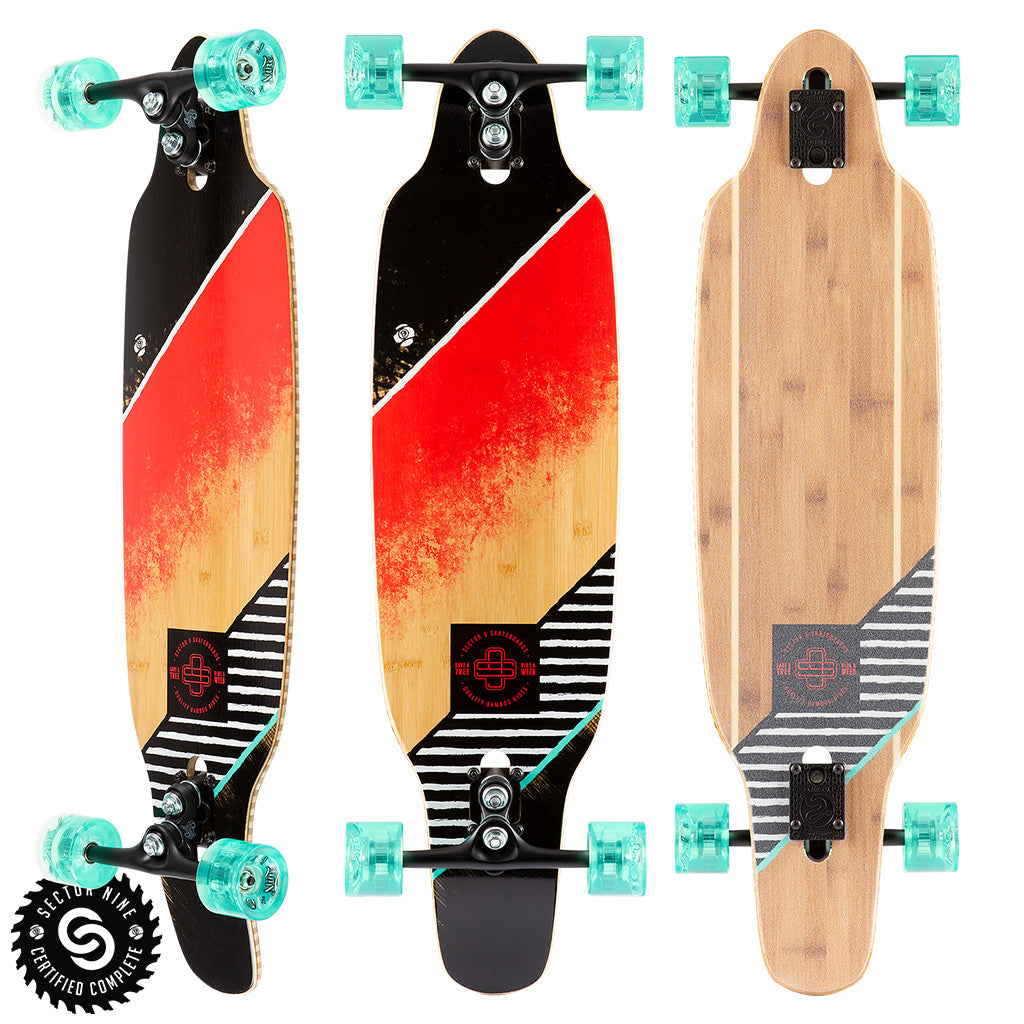 "Sector 9 Streak Striker Complete - 36.5"" - Red - Seaside Surf Shop"