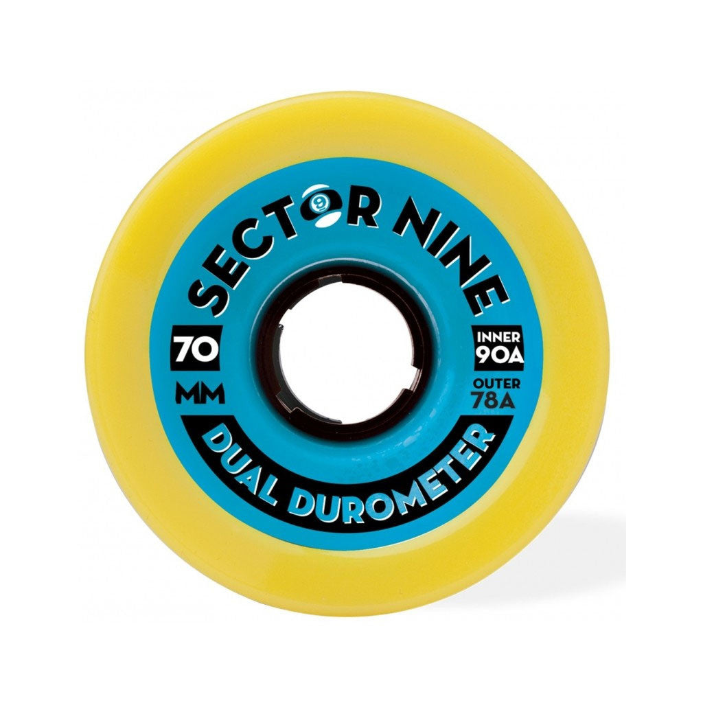Sector 9 70mm Dual Durometer Wheels