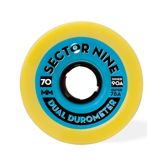-Skate-Sector 9 70mm Dual Durometer Wheels-Sector 9-Seaside Surf Shop