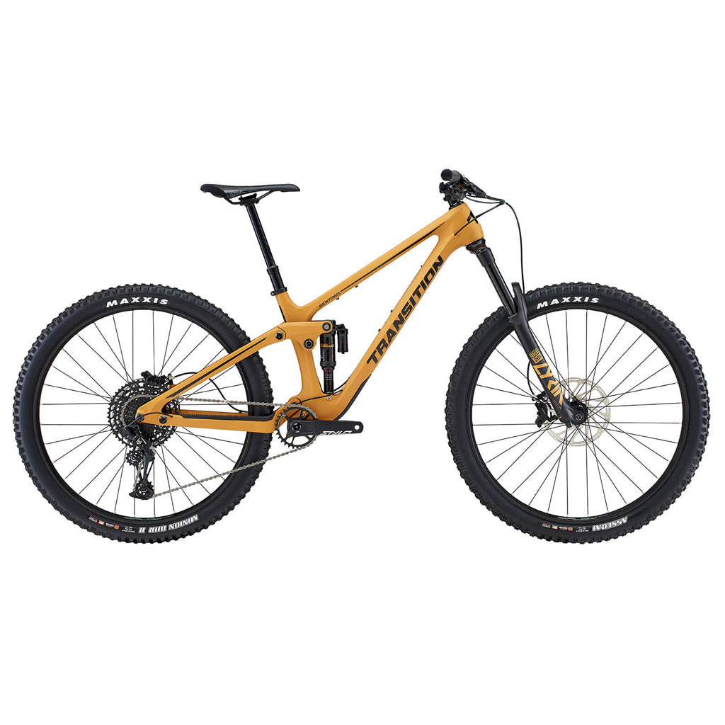 Transition Bicycle Company Medium Sentinel Carbon NX - Loam Gold - Seaside Surf Shop