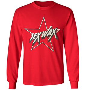 Sex Wax Star Tee, Apparel, Zogs Sex Wax, Mens Tees, Tasty waves, long sleeves, and something like that...rocked out by Jeff Spicoli and now officially released by Zogs for your parents annoyance.