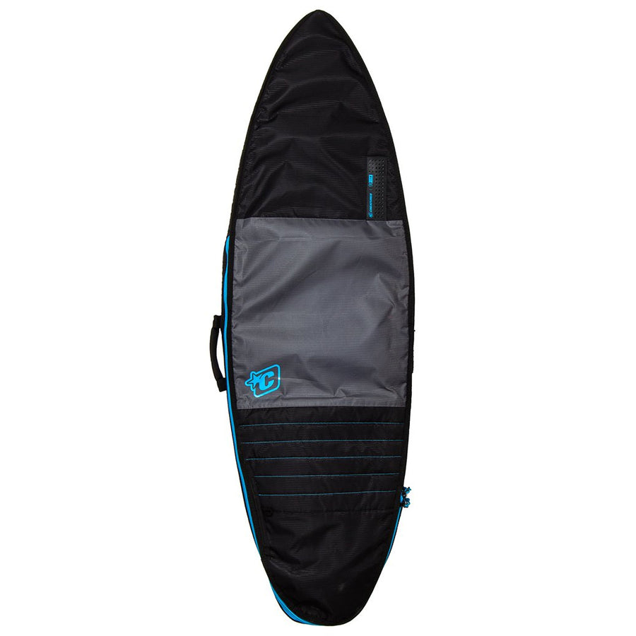 Creatures Shortboard Day Use Bag - Charcoal/Cyan