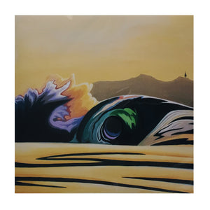 Lori LaBissoniere Prints - 12x12-Drift Awake-Seaside Surf Shop