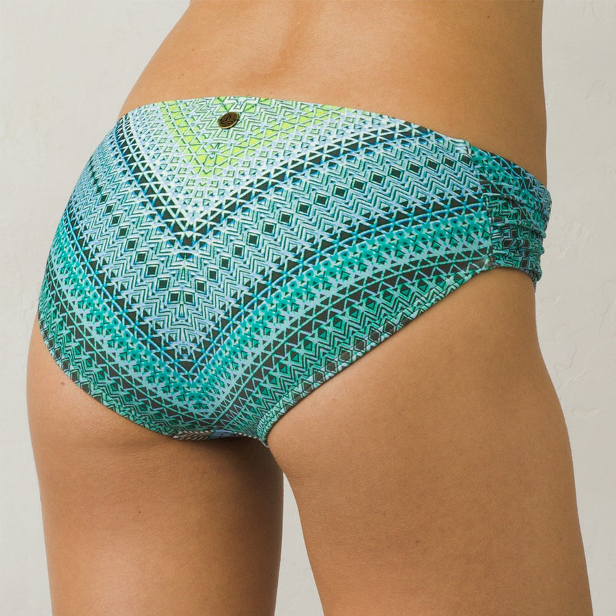 -Swimwear-PrAna Womens Sirra Bottom - Emerald Riviera-Prana-Seaside Surf Shop
