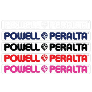 Powell Peralta Powell & Peralta Horizontal Sticker
