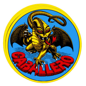 "Powell Peralta Cab Original Dragon 4x3"" Sticker"
