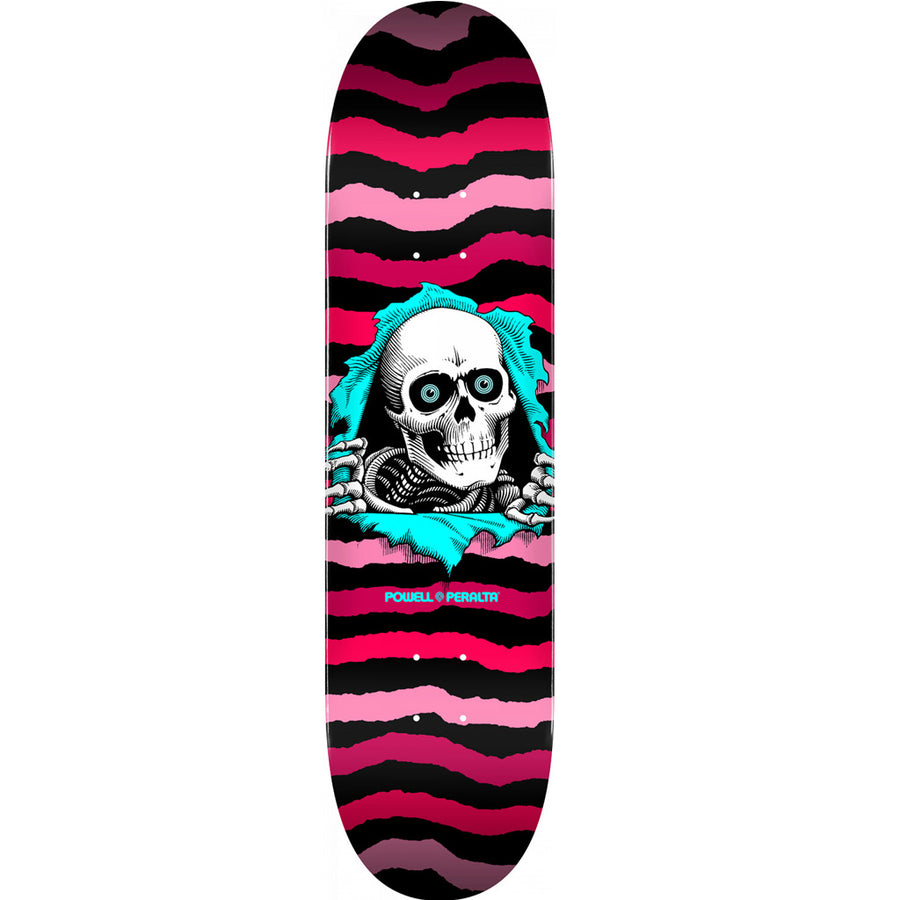 "Powell Peralta Ripper Skateboard 8.5"" Deck - Pink"