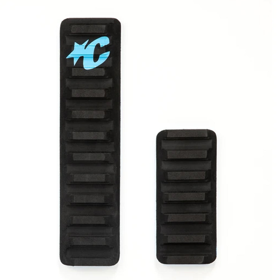 Creatures Skim Arch Traction Pad - Black/Cyan