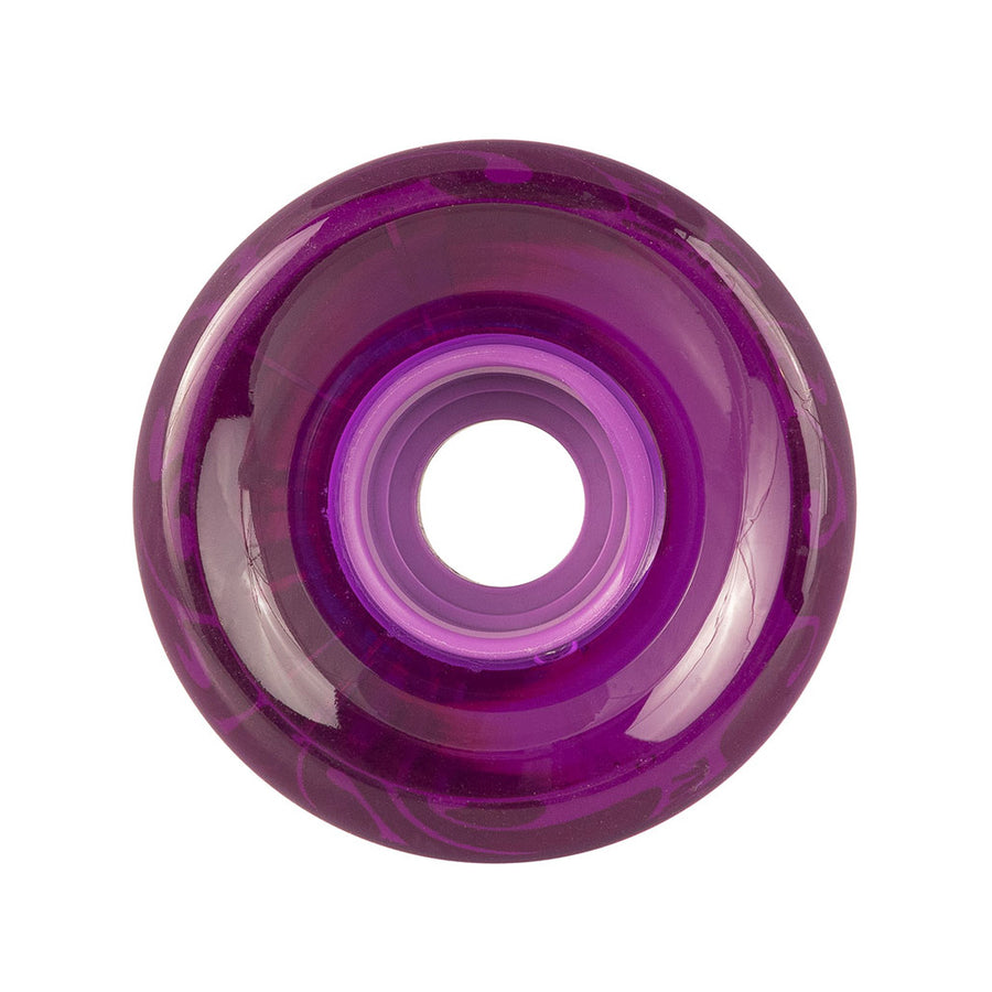 OJ 60mm  78a Super Juice Wheels - Trans Purple