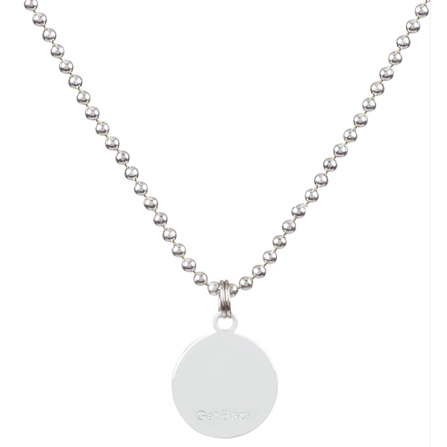 Saint Christopher Medium Medal - Melon/Blush