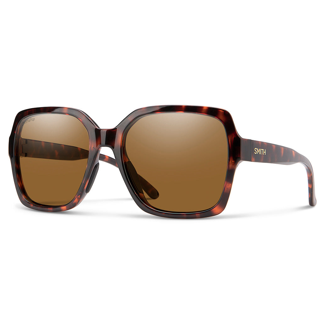 Smith Optics: Flare | Tortoise ChromaPop Polarized Brown - Seaside Surf Shop
