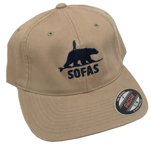 SOFAS Foundation Polar Bear and Penguin Twill Dad Hat - Khaki, Apparel, SOFA, Ball Caps, SOFAS Foundation Polar Bear and Penguin Twill Dad Hat - Khaki Contents:98% Cotton, 2% SpandexAdditional Features:Trendy, low profile hat. Unstructured for classic look. Matching undervisor. 8 rows of stitching on visor. *All proceeds from this collection donated directly to the SOFAS Foundation.Learn more about SOFAS here. https://www.sofasurfing.org/