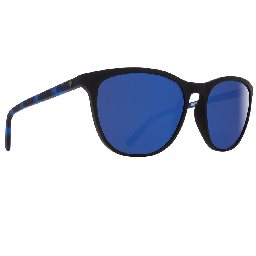 Spy Optics Cameo - Soft Matte Black/Navy Tort/Happy Gray Green Lens with Dark Blue Spectra