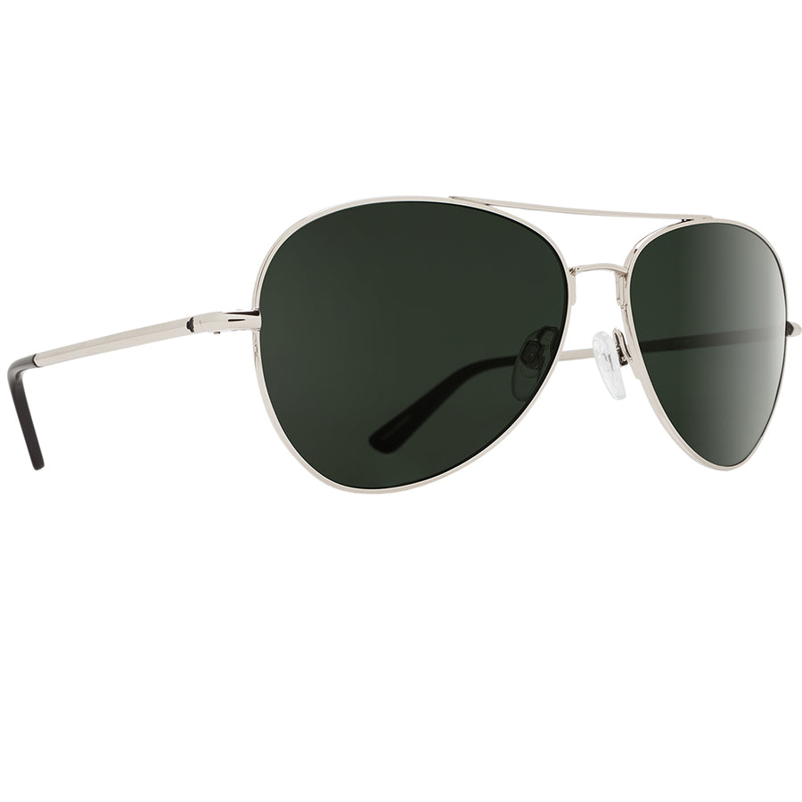Spy Optics Whistler - Silver/Happy Gray Green Blue Spectra