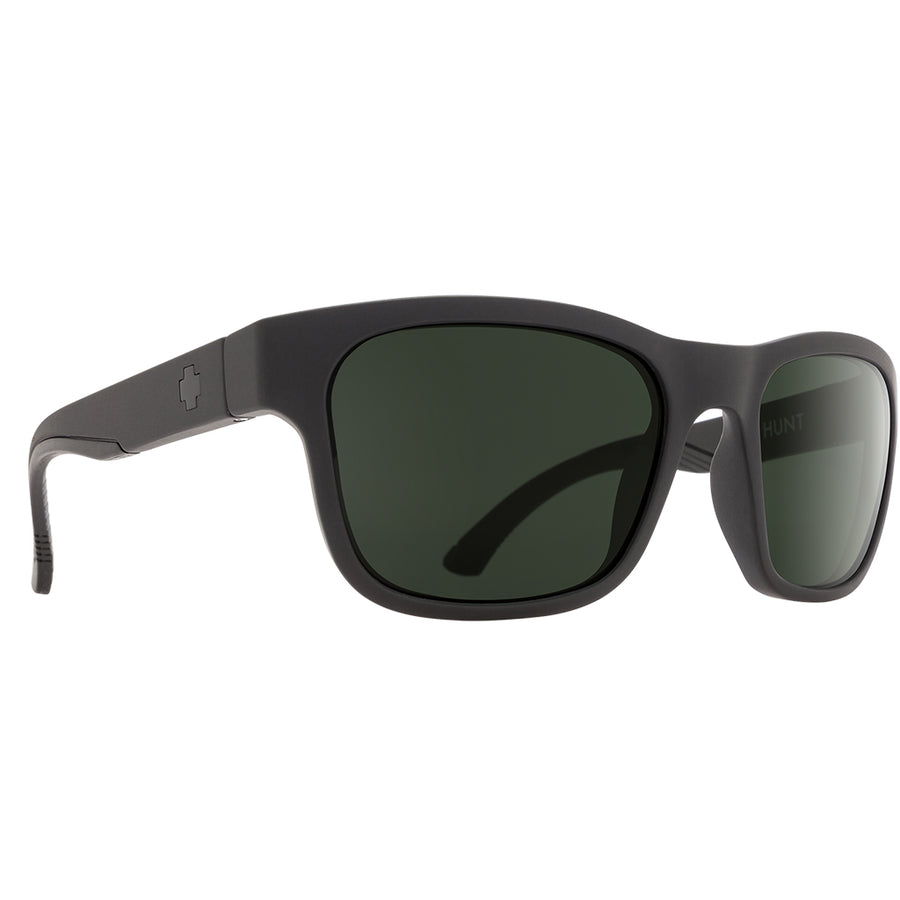 Spy Optics Hunt - Matte Black/Happy Gray Green Lens-SPY-Seaside Surf Shop
