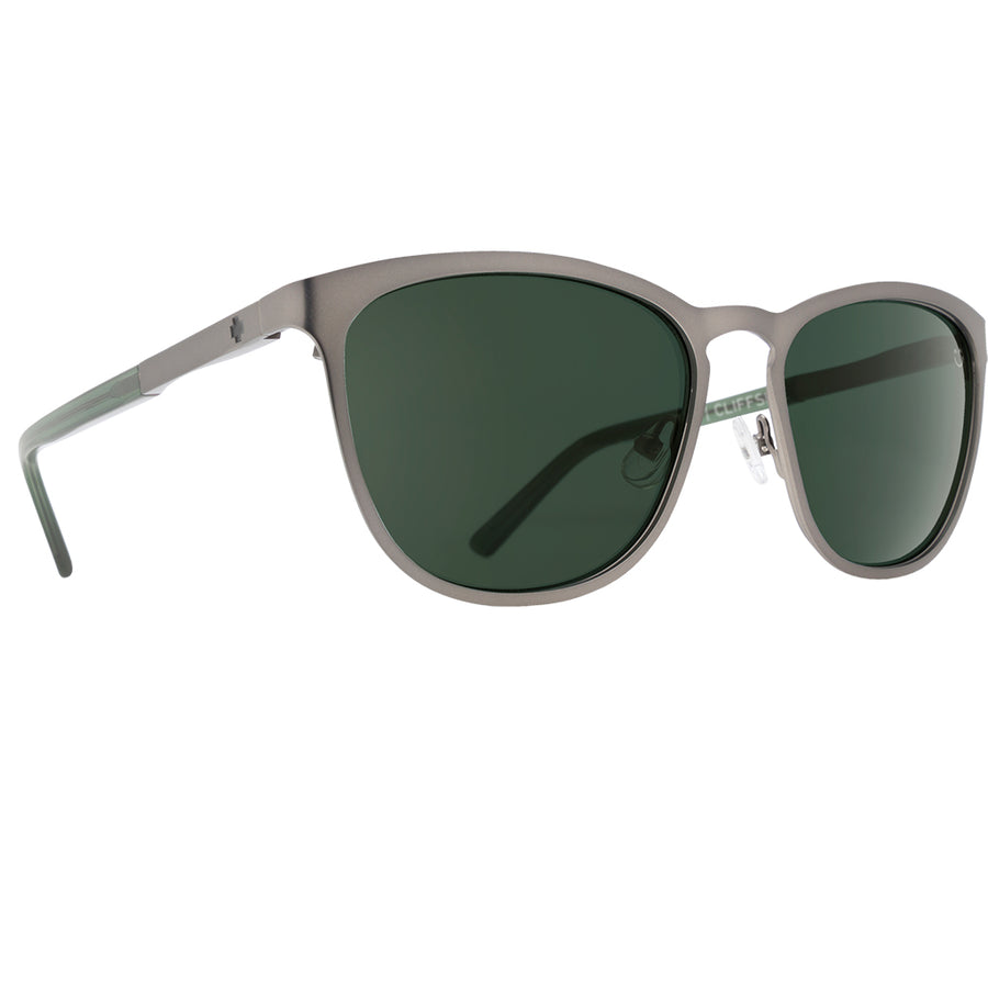 Spy Optics Cliffside Matte Gunmetal/Matte Translucent Seaweed/Happy Gray Green-SPY-Seaside Surf Shop