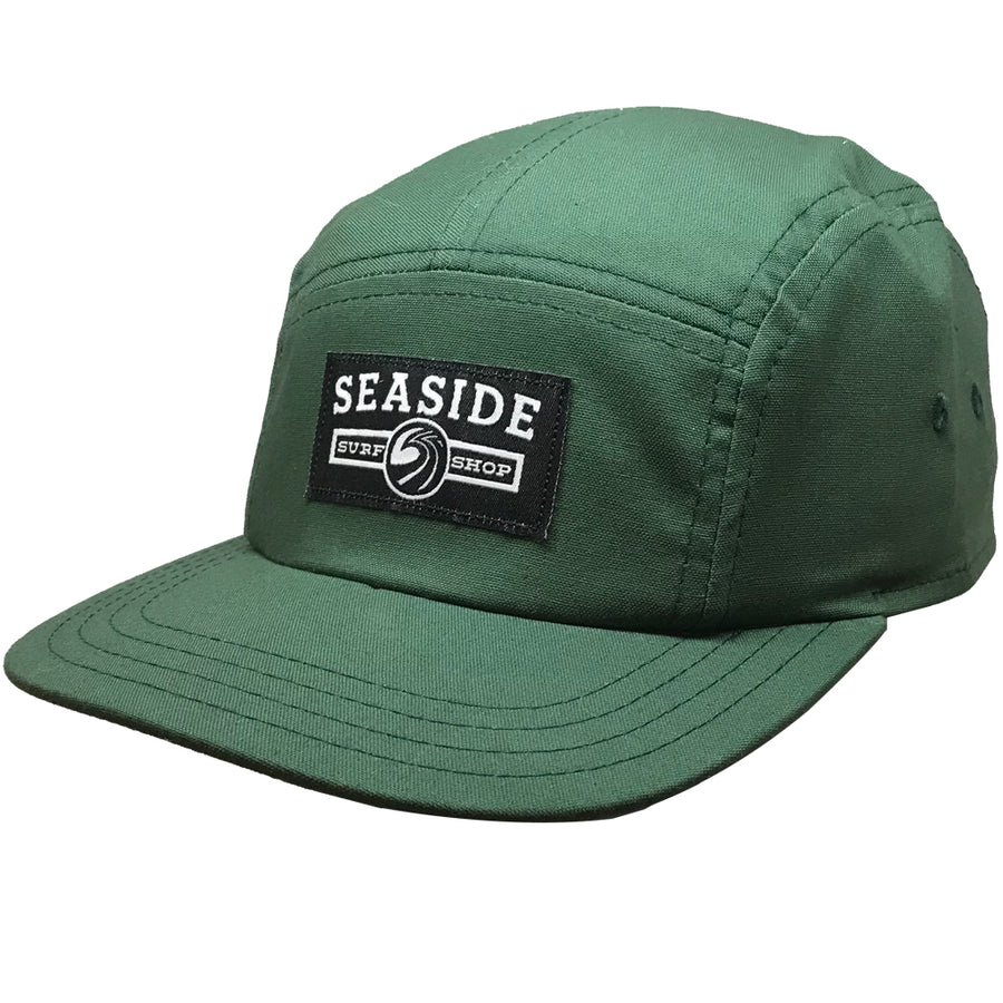 Seaside Surf Shop Longshoreman Campers Cap - Forest Green