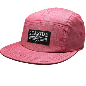 Seaside Surf Shop Longshoreman Campers Cap - Scarlet Oxford