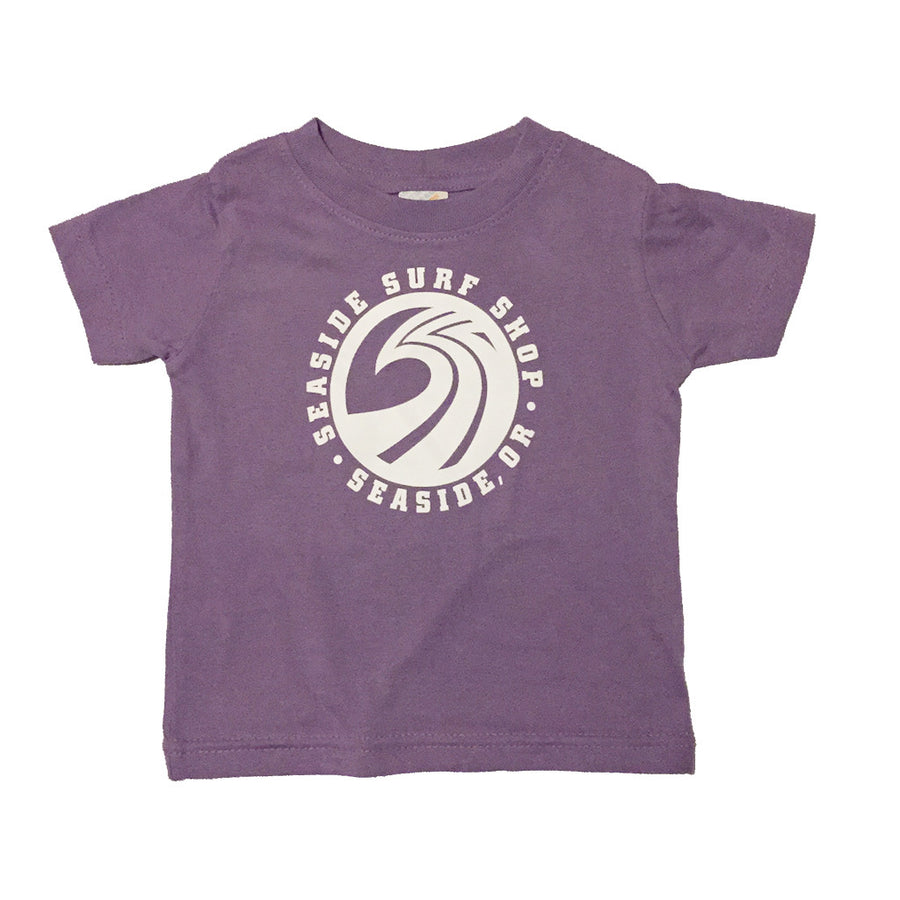 Seaside Surf Shop Infant New Wave Tee - Lavender - Seaside Surf Shop   - 1