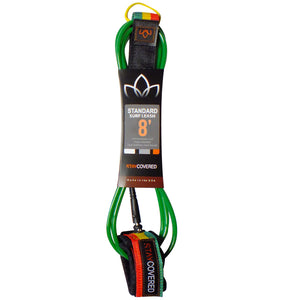 Stay Covered Standard Surf Leash - 8'x9/32