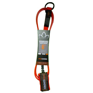 Stay Covered Standard Surf Leash - 6'x9/32