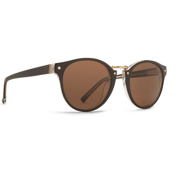 -Sunglasses-Von Zipper Stax - Black Crystal/Bronze-Von Zipper-Seaside Surf Shop