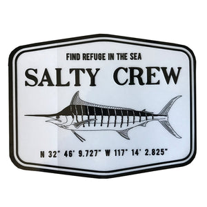"Salty Crew Stealth Sticker - 4.5""x3.5""-Salty Crew-Seaside Surf Shop"