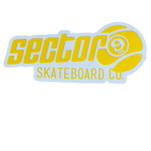 "Sector 9 Skate Co 3x1.5"" - Yellow-Sector 9-Seaside Surf Shop"