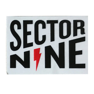 "Sector 9 Lightning 3x2.5"" - Black/Red"