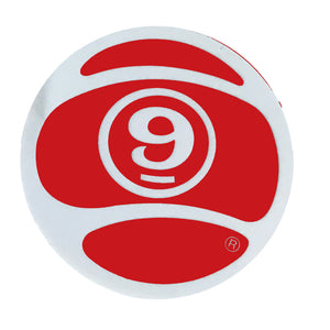 "Sector 9 Nineballs 2"" - Red-Sector 9-Seaside Surf Shop"