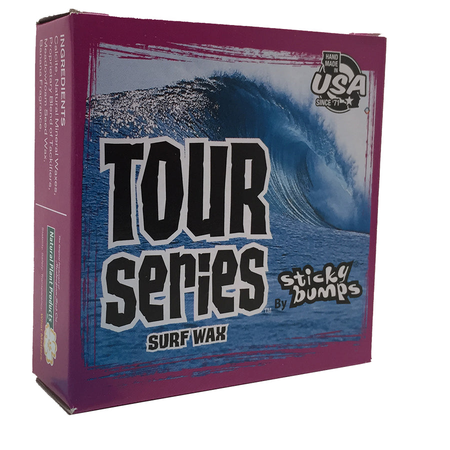 Sticky Bumps Tour Series Box Wax - Cold/Cold (4 Pack)-Blocksurf-Seaside Surf Shop