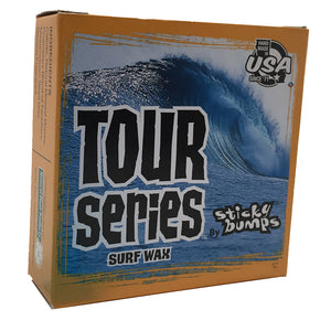 -Surf Accessories-Sticky Bumps Tour Series Box Wax - Warm Tropical (4 Pack)-Blocksurf-Seaside Surf Shop