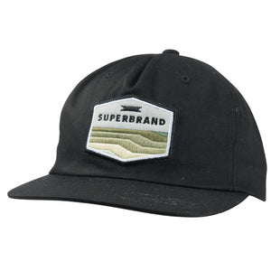 Superbrand Mens Forecast Snapback Hat - Black