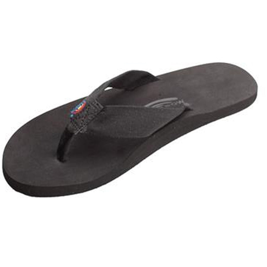 -Footwear-Rainbow Sandals Mens The Cloud - Black-Rainbow Sandals-Seaside Surf Shop