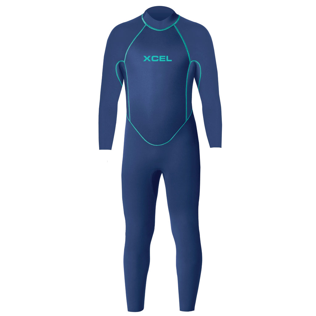 2019/20 Xcel Toddler 3mm Fullsuit Wetsuit - Faint Blue - Seaside Surf Shop