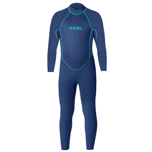 Xcel Toddler 3mm Fullsuit Wetsuit - Faint Blue, Wetsuits, Xcel Wetsuits, 3mm Wetsuits, Xcel Toddler 3mm Fullsuit Wetsuit - Faint Blue