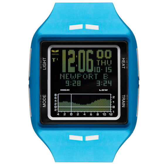 -Watches-Vestal Brig Surf & Tide Trainer Watch - Blue/White/Black-Vestal-Seaside Surf Shop