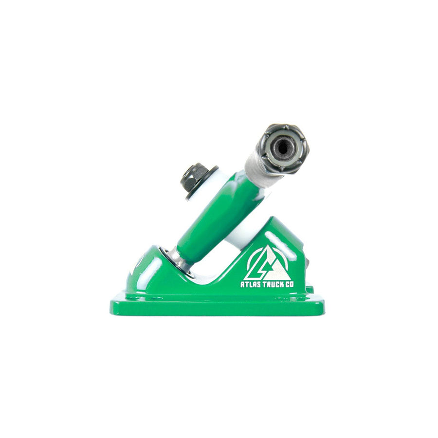 Atlas Trucks Ultralight 8mm 48º 180mm RKP Truck Set - Vibrant Green-Atlas Truck Co-Seaside Surf Shop