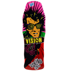 "-Skate-Vision Pyscho Stick 10"" Deck-Vision-Seaside Surf Shop"