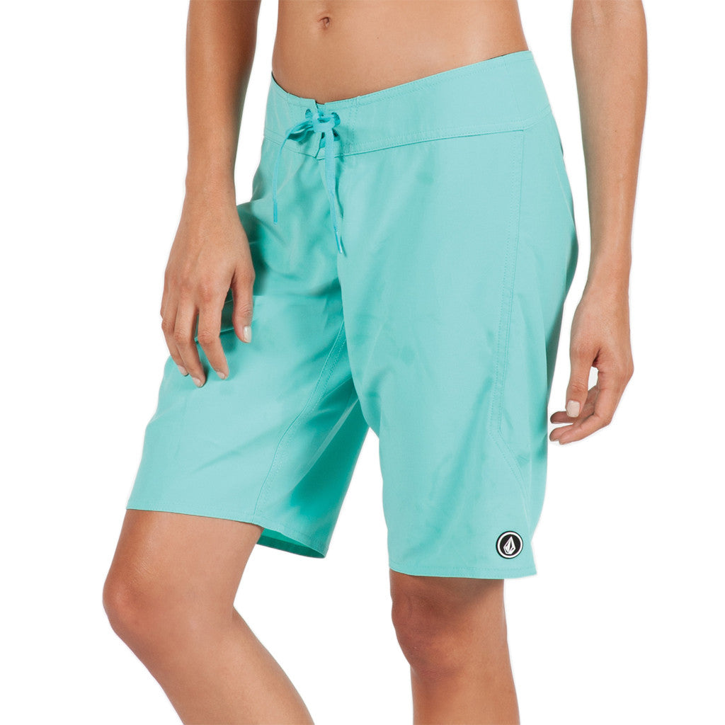 "Volcom Womens Simply Solid 11"" Short - Seaside Surf Shop 