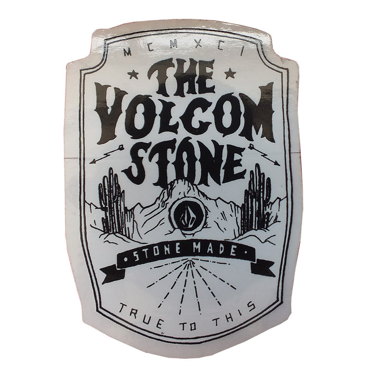 "-Misc. Stuff-Volcom -The Volcom Stone Sticker - 2.5x2""-Volcom-Seaside Surf Shop"