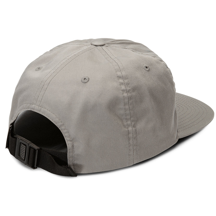 Volcom Mens Stone Cycle Cap - Gray