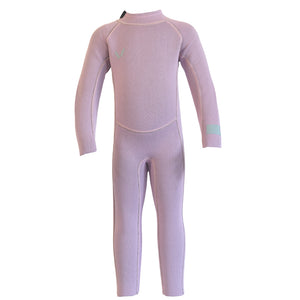 Volte Vital Toddler 2x2 Back Zip Steamer Wetsuit - Purple